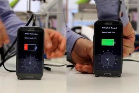 스마트폰 30초 급속 충전 기술 나왔다