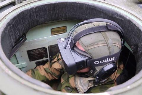 노르웨이軍, 전차에 '오큘러스 리프트' 활용