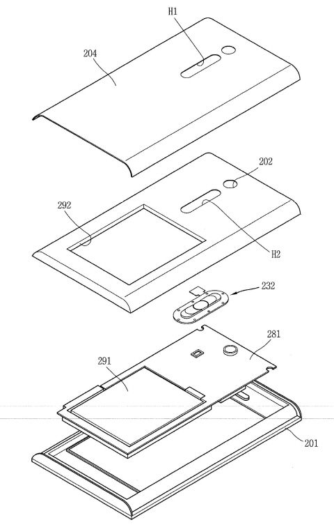 LG전자 '뒷면 버튼 특허' 등록 완료