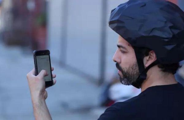 마음 읽는 자전거 헬멧, 용도는?