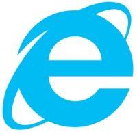 마이크로소프트 인터넷익스플로러 로고