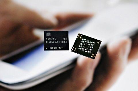 삼성, 세계 첫 스마트폰용 원 메모리 양산