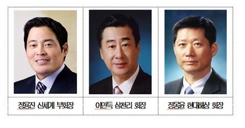 정용진·이만득·정몽윤…서울상의 부회장 추가 선임