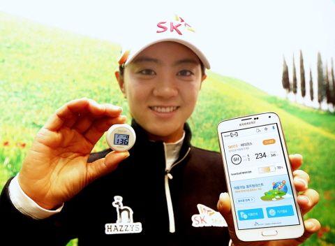 "SKT ""골프 라운딩도 스마트하게"""