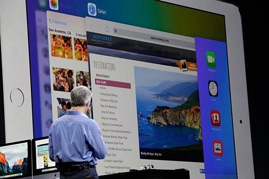 아이패드에서 멀티 태스킹을 지원해 한번에 많은 앱을 실행해서 볼 수 있다. (사진 = 씨넷)