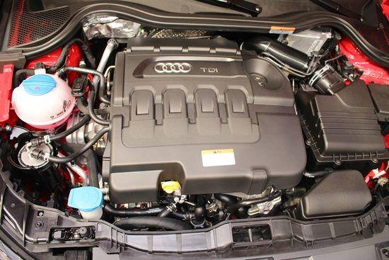뉴 아우디 A1에 탑재된 116마력 신형 1.6 TDI 엔진 (사진=지디넷코리아)