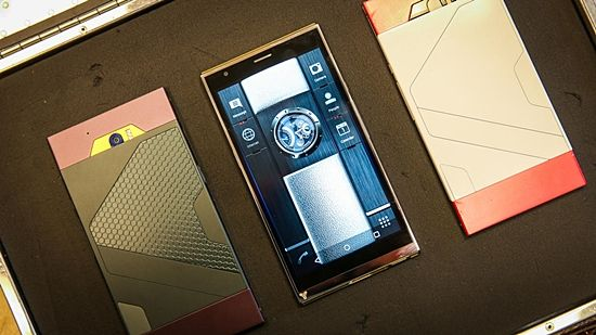 영국의 튜링 로보틱스가 만든 세계 최고 보안 수준을 자랑하는 튜링폰 (사진=씨넷)