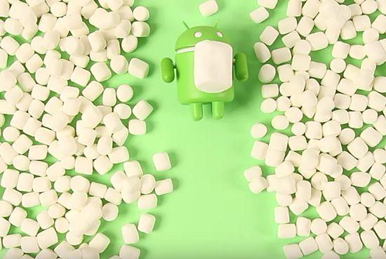 구글은 기존 안드로이드M으로 불리던 새로운 운영체제 이름을 '마시멜로'로 정했다. (사진=씨넷)