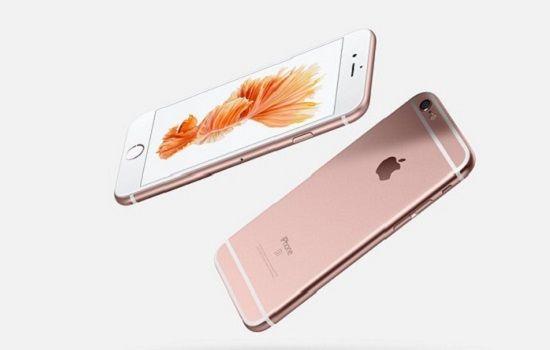 아이폰 6s 로즈골드(사진=애플)