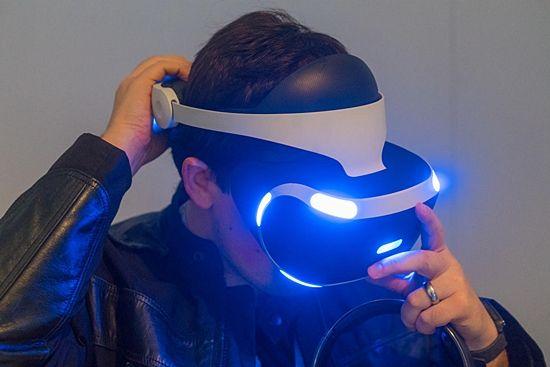 플레이스테이션 VR 헤드셋 자세히 보기
