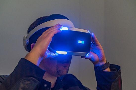 소니 플레이스테이션 VR (사진=씨넷)
