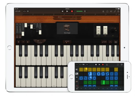 애플, 음악 제작용 앱 대폭 업그레이드