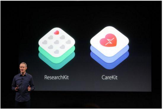 애플이 리서치킷에 이어 케어킷이란 환자용 앱 개발도구를 선보였다.