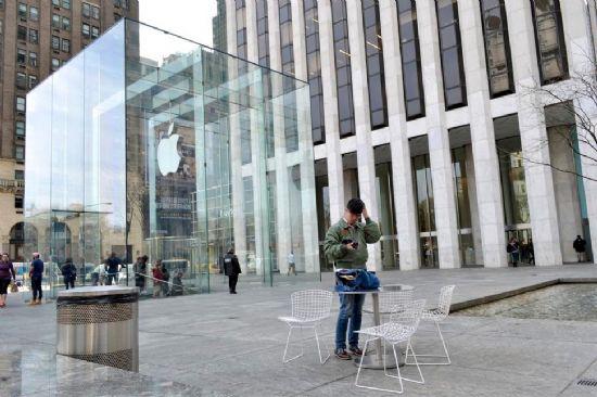 뉴욕 맨해튼 5번가에 있는 애플 매장. (사진=씨넷)