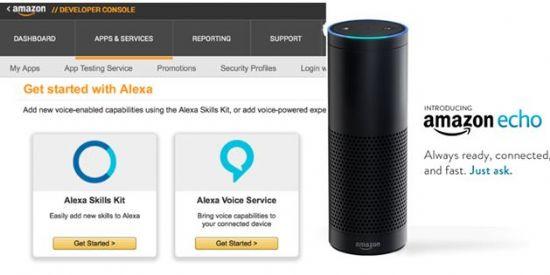 에코에 새로운 기능을 추가할 수 있는 Alexa Skills Kit=아마존