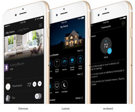 애플이 스마트기기들을 제어할 수 있는 홈킷 전용 앱을 내놓을지 주목된다. (사진=애플)