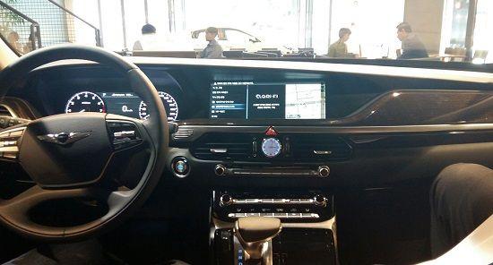 제네시스 EQ900에 적용된 '클래리 파이' 기술(사진=지디넷코리아)