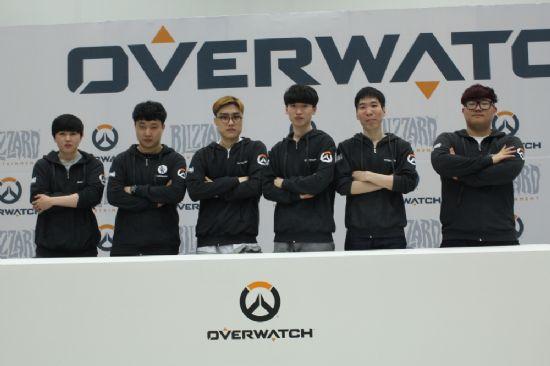 오버워치, 첫 e스포츠 대회 '팀 대전' 우승