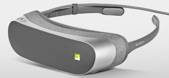 LG전자의 가상현실(VR) 헤드셋 'LG 360 VR' (사진=LG전자)