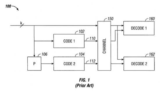 애플을 제소한 칼텍의 와이파이 관련 특허권 개념도. (사진=미국 특허청)