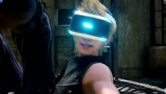 PS VR을 지원하는 파이널판타지15 VR 익스피리언스.