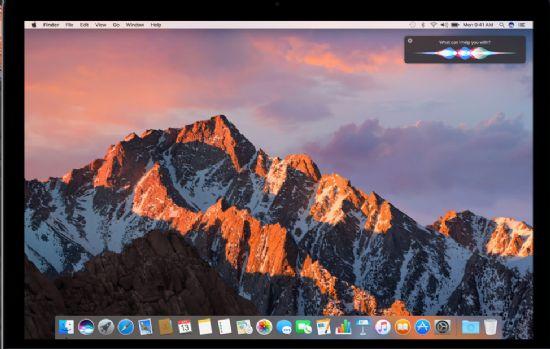애플이 맥OS로 이름을 바꾸고 시리를 추가했다