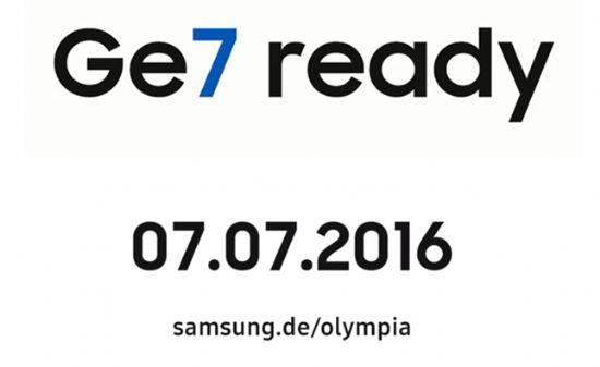 삼성전자 독일 홈페이지에 게재된 갤럭시S7 엣지 올림픽 에디션 티저 동영상 중 일부 (사진=지디넷코리아)