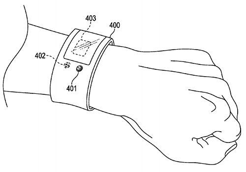 애플이 심전도 측정 웨어러블 기기를 특허 출원했다.(사진=미국 특허청)