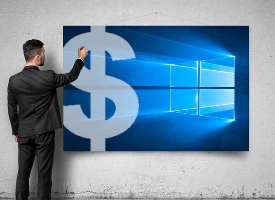 윈도 판매감소, MS의 새 비즈니스 모델은?
