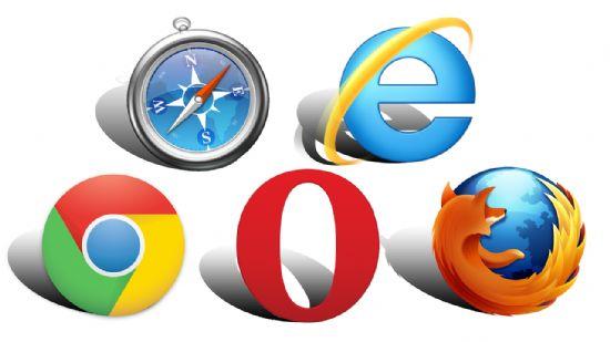 5대 PC 브라우저 아이콘. 각 개발업체가 웹표준화기구 W3C 활동을 통해 주류 웹기술 표준화 활동을 추진해 왔다. [사진=Pixabay]