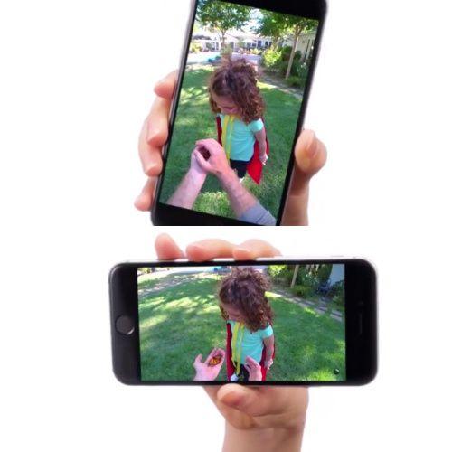 스펙터클로 촬영한 영상은 새로운 원형포맷을 채택해 스마트폰 가로,세로 모드에서 모두 풀스크린으로 볼 수 있다.