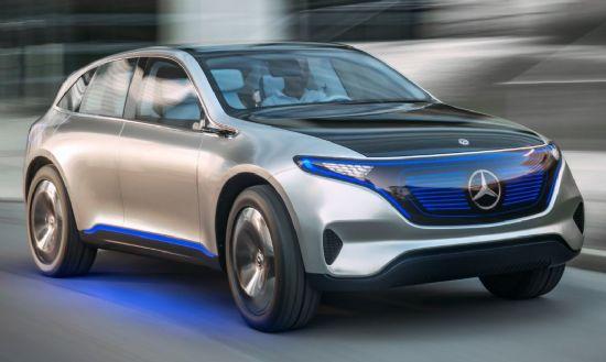 벤츠 전기 SUV 콘셉트카 '제너레이션 EQ' (사진=다임러 AG)