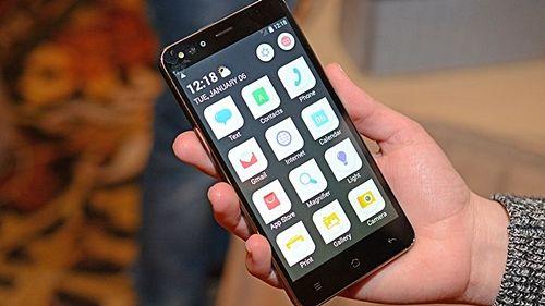 코닥의 첫번째 스마트폰 IM5 (사진=씨넷)