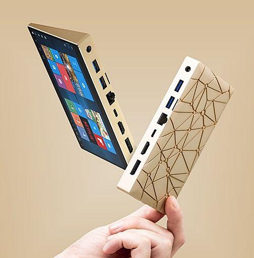 스마트폰 처럼 작은 초소형 미니 PC 시리우스 A (사진=인디고고)