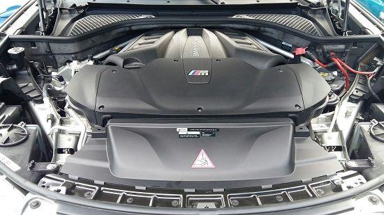 X5 xDrive M50d 엔진룸(사진=지디넷코리아)
