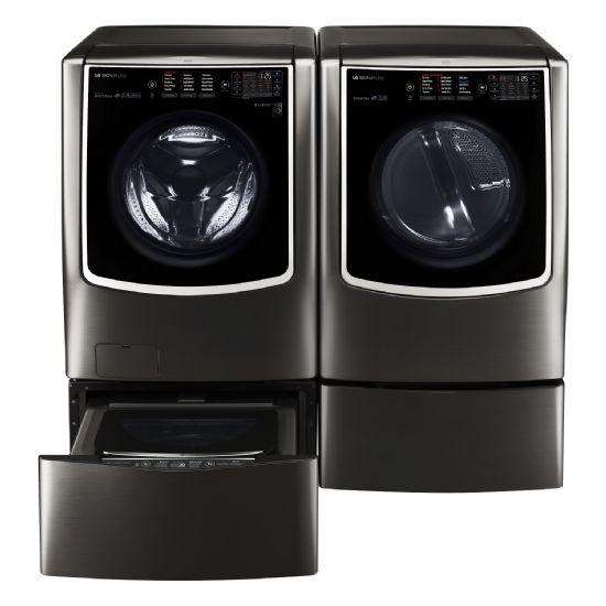 CES 혁신상을 수상한 LG 시그니처 세탁기?건조기 패키지 (사진=LG전자)