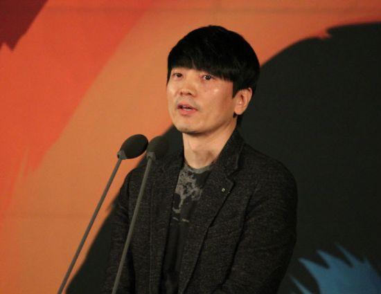 최우수상을 수상한 최정호 넷마블엔투 대표.