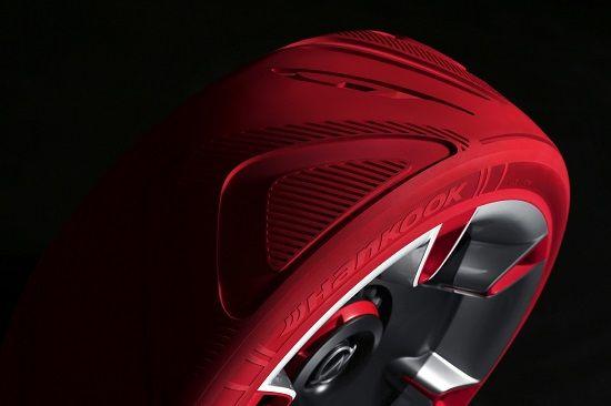 뉴 오펠 GT 콘셉트 카 콘셉트 타이어(사진=한국타이어)