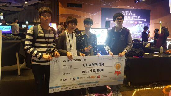 한국 화이트햇 해커팀, 타이완 국제해킹대회 우승