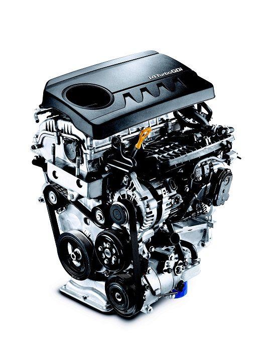 카파 1.4 가솔린 터보 엔진(사진=현대차)