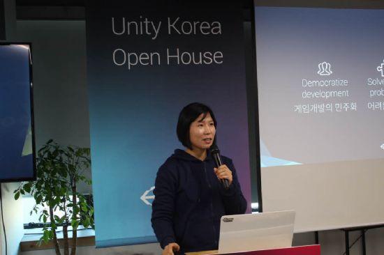 김인숙 유니티코리아 대표.