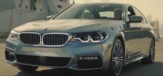단편영화 '디 이스케이프'에 등장한 BMW 신형 5시리즈(사진=디 이스케이프 캡처)