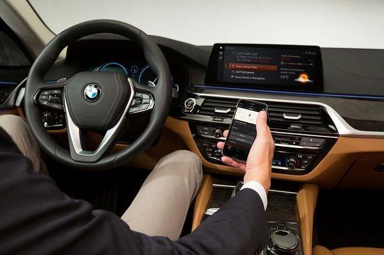 BMW 커넥티드(사진=BMW)