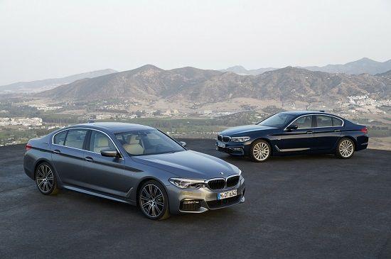 BMW 신형 5시리즈(사진=BMW)