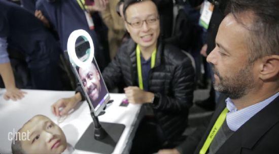 벨루스3D가 선보인 3D 얼굴인식 카메라.(사진=씨넷)