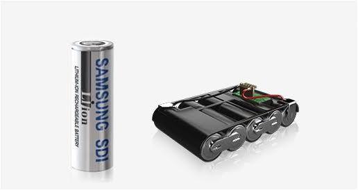 삼성SDI 원통형 배터리 (사진=삼성SDI)