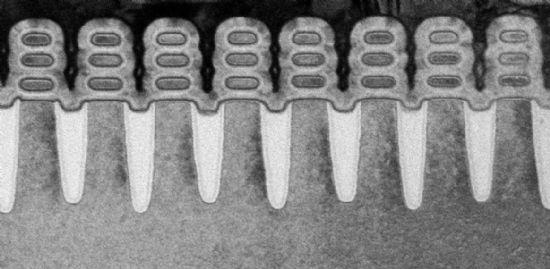 IBM은 삼성전자, 글로벌파운드리(GF)와 함께 업계 최초로 5나노미터(nm) 반도체 제조가 가능한 실리콘 나노시트(nanosheet) 트랜지스터 생산 공정 개발에 성공했다.