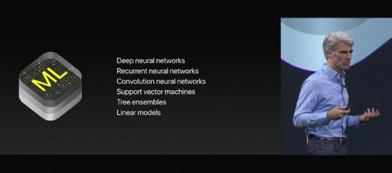 코어ML이 지원하는 머신러닝 모델