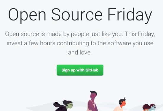 깃허브가 오픈소스프라이데이 활동을 전개한다