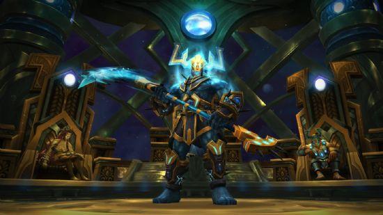 월드 오브 워크래프트의 '안토러스 불타는 왕좌.
